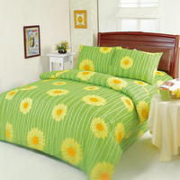 embroidery colorful home bed sheets in polycotton