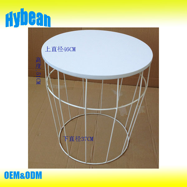 Home decoration Metal Wire End Side Coffee table
