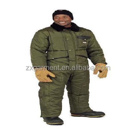 Cold store wokwear deep freezer jacket with trousers