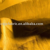 Home Textile Golden Color High Quality Plain Softextile Silk Fabric