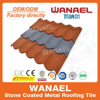 Building Material Corrugated Galvanized Metal Roofing Tile