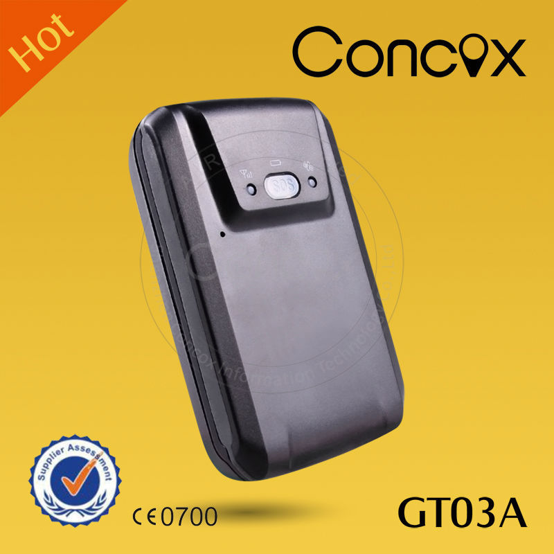 Concox GT03A gps portable traker vehicle tracking long battery Personal tracking device