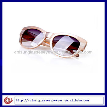 Round Bamboo Acetate Sunglasses Acetaet Glasses
