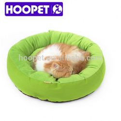 Cute green frog style pet bed wholesale dog house