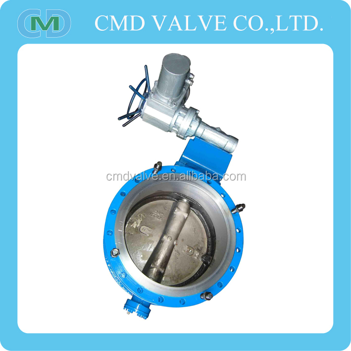 Wafer Type Worm Gear Operated Butterfly Valve