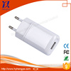 Wholesale 1 Port EU US Plug 5V 2.1A single dual usb wall charger for iphone samsung