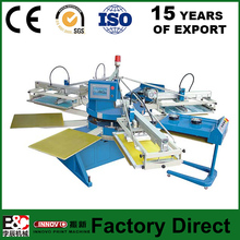 SPE series automatic screen printer carousel screen printing machine textile screen printing machine used