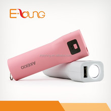 Wholesale consumer electronics 18650 2600mah polymer battery power bank for thailand bangkok