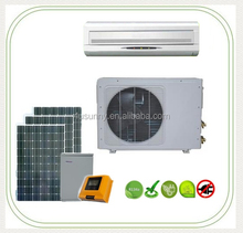 China Made Solar 48 Volt DC air-conditioner with cooling and heating