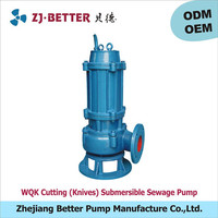 WQK top quality submersible dredge pump