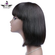 Alibaba wholesale short brazilian hair full lace wig free wig catalogs human hair dreadlock wig