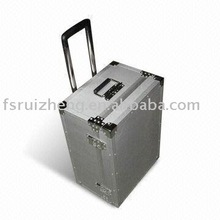 Aluminum Trolley Luggage Case RZ-LGX-05