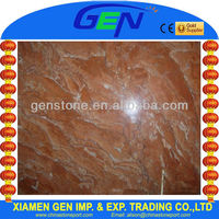 Red brown Philippine Marble