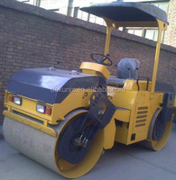 Small Double Drum Asphalt Widely Used Soil Compactor Roller 4Tons For Sale