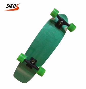 27*8.0 inch 7ply maple skateboard single kick skateboard deck with dye color