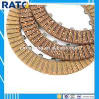 For CD70 motorcycle paper base motorcycle clutch friction plate