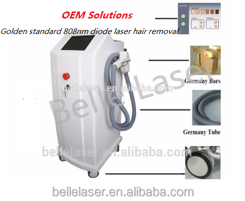 OEM no pains 650nm diode laser anti-cellulite massager/Hand Piece