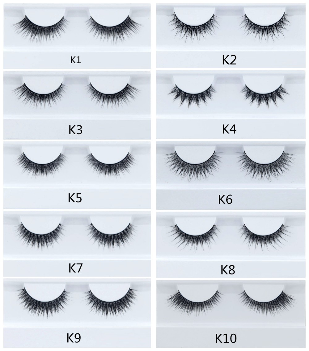 Newest Products Invisiband 3D 100% Real Mink False Strip Lashes