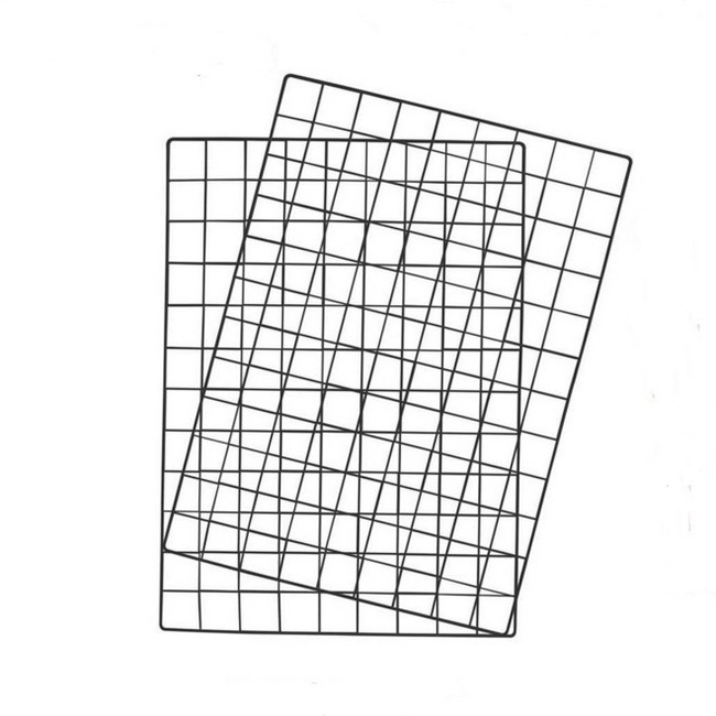 Decorative Iron Grid Panel For Hanging Picture <strong>Wall</strong>
