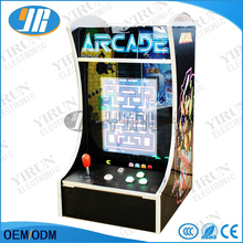 Classical games 60 In 1 Game PCB/Long shaft joystick/Mini verticle type arcade machine for LCD Mini table top machine