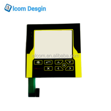 Membrane switch combine waterproof touch screen resistive touch panel