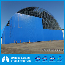space frame steel structure coal shed design