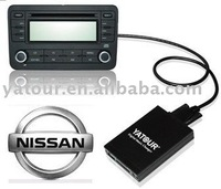Digital CD changer(USB SD car mp3 interface) for Nissan