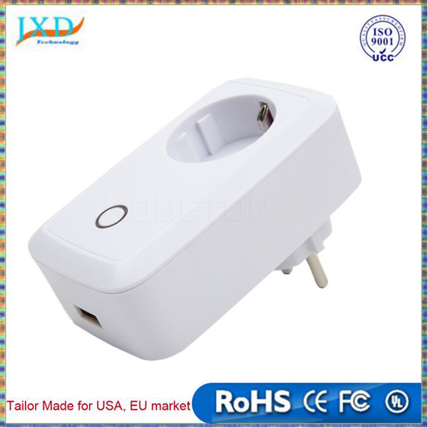 EU US Standard White Wifi Smart Plug Power Socket App AC110-240V 10A Wireless Remote Control Wall Plug For IOS Andriod