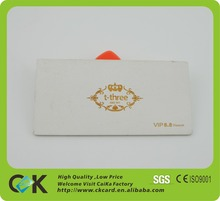 Nice quality creative wooden postcard invitation card design for gift