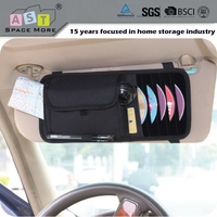 High quality hot brand durable car visor organizer for storage