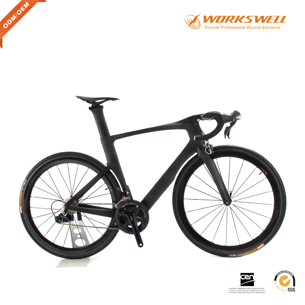 New Design Aero High Speed Chinese Carbon Road Bicycle Carbon Fiber Road Bike