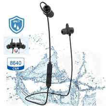 OEM Branded micro super bass stereo blue tooth wireless earplug bluetooth headphones IPX7 for smart tv without wire