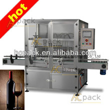 Four heads full-automatic grape wine filling machines from China supplier