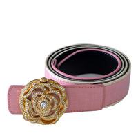 Perfume women leather waist belt
