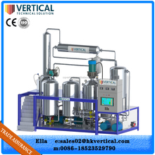 VTS-PP series competitive price PLC top technology used diesel fuel oil recycling machine