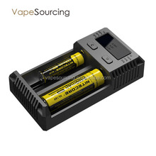 Original nitecore i2 charger intelly charger i2 intercore battery charger e cigarette