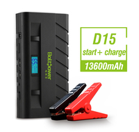 D15 Utility vehicles jump starter, emergency power starter and portable jumpstarters external battery charger adapter