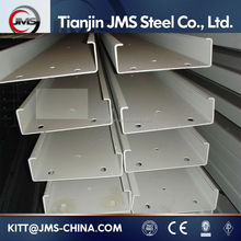 Steel Unistrut Hot Dip Galvanized C Shape Channel Steel