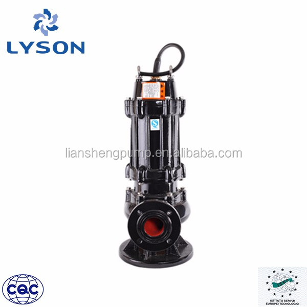 China Cast Iron Vertical Centrifugal submersible sewage pump