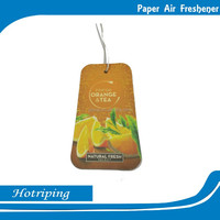 High quality custom Hanging air fresher paper for car