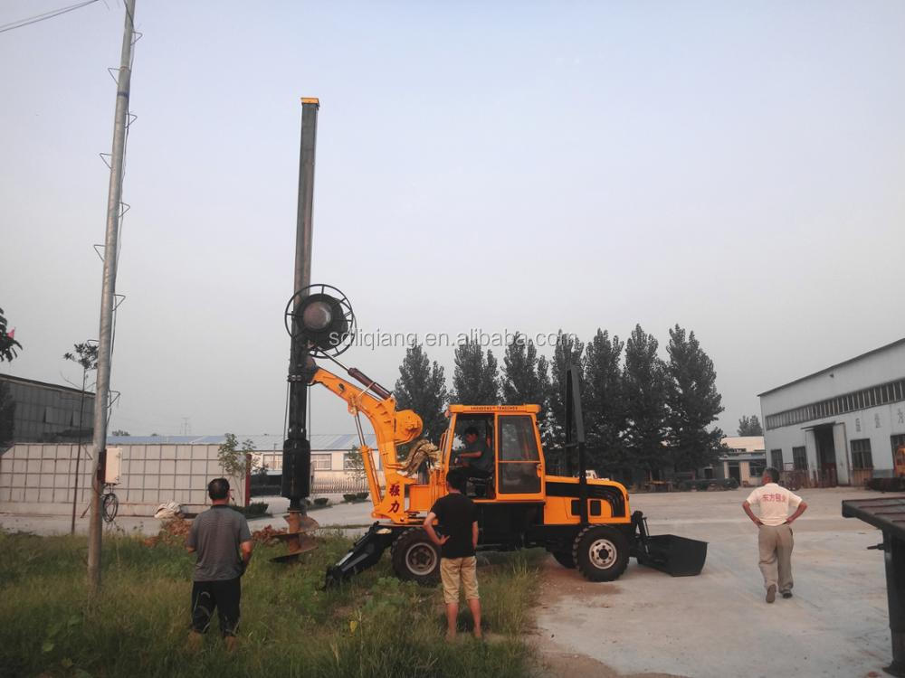 wheeled 180 degree rotary drilling rig