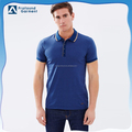 short sleeve printed cheap stand collar men's polo shirt