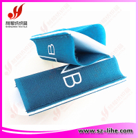 55*138mm Colored hook adn loop ski sleeve for nordic skiing with logo printing