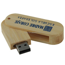maple bamboo wood usb, swivel usb pen flash drive wooden usb keys 8gb