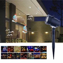 LED Christmas Projector Light 14pcs Replaceable Pattern Slide for Halloween,Christmas