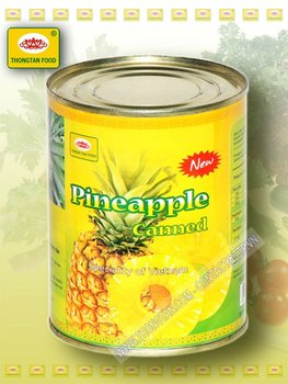 Slices Pineapple in can 30 Oz