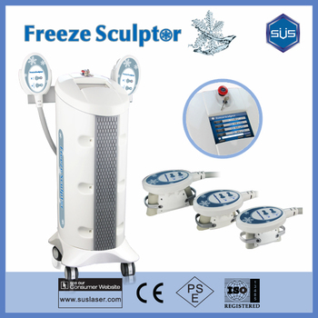 freeze fat therapy body slimming sulptor lipo freeze machine