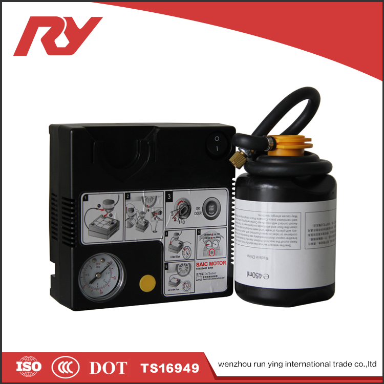 RUNYING Hight Quality Products 450ML Liquid Tire Sealant And 12V Inflator