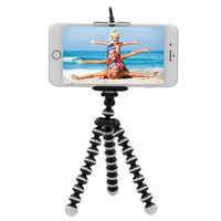 waterproof Mobile Phone tripod Portable Travel Flexible Mini Octopus Tripods Holder For iPhone Stand