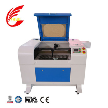 Hot sale mini portable 570 laser engraving machine for paper leather rubber glass